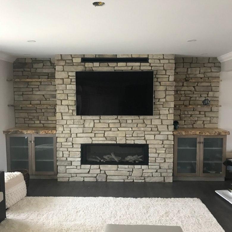 Custom Countertops and Shelves